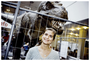 Eliza Jarl Estrup, Pælæontolog